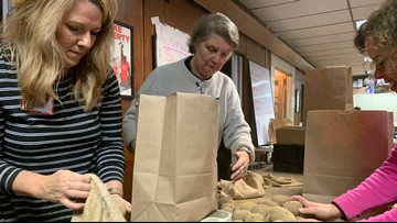 'Solidarity Harvest' prepares 1,300 Thanksgiving locally sourced bags for families in need