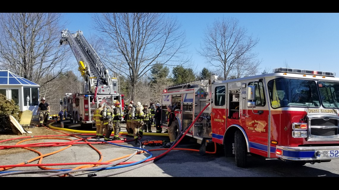 North Yarmouth fire