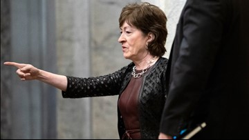 Collins, King question legal teams in Trump's impeachment trial as vote on witnesses nears