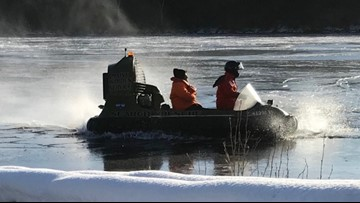 Two men rescued by  wardens on Penobscot River