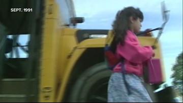 President Bush kicks off the 1991 school year in Lewiston