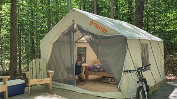 For the incompetent camper: 10 'glamping' sites coming to Maine State Parks