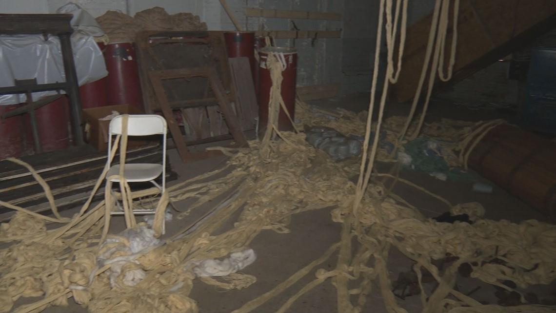 Future museum site damaged in suspicious fire