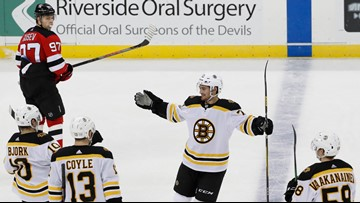Dependably beatable Devils are a tonic for Bruins' malaise