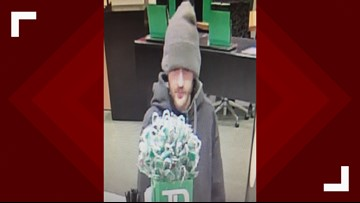 Suspect sought in robbery of Bangor bank
