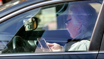 Here's how much you'll actually get fined if caught using a cellphone while driving