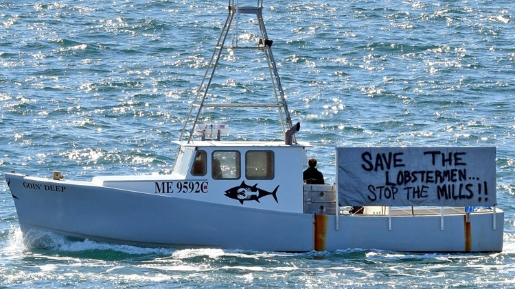 Lobsterman and turbine developers trade accusations over wind project