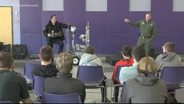 Hampden Robotics class learns from the pros