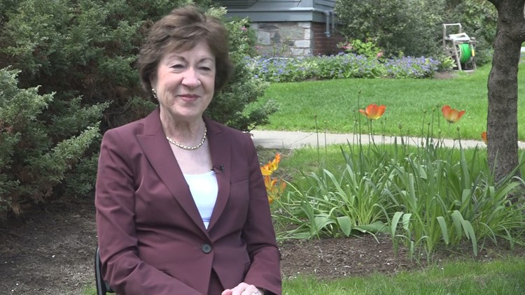 Maine Senator Susan Collins: 'Changing of the (masking) regulations to better reflect science I think gave us all a lift'