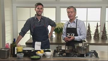Chef Matt Ginn's mussels