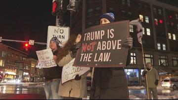 Activists urge Senator Collins to support a fair trial