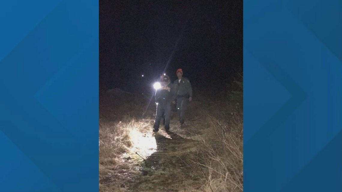 Game Wardens locate lost man near Kokadjo