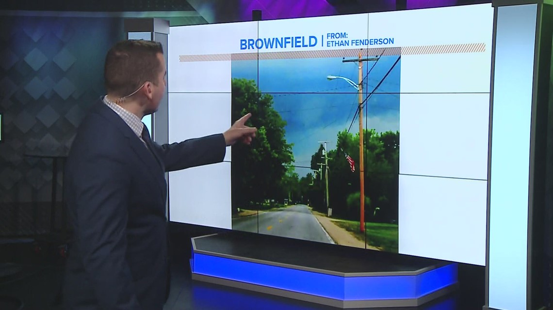 Severe weather rolls through parts of western Maine