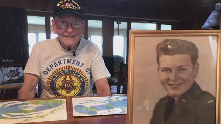 7 decades later, Army veteran has vivid memories of service in 2 wars