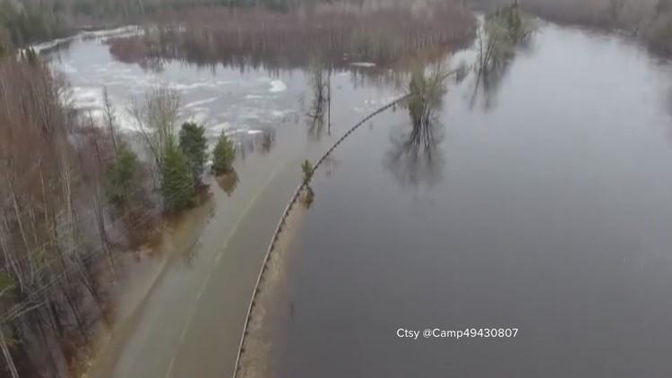Mattawamkeag River in Bancroft