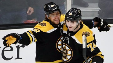 Bruins gorge on four servings of Pasta