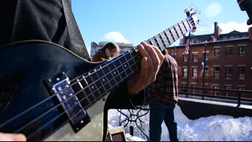 WBLM hosts surprise rooftop concert to honor Beatles' final performance