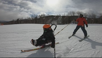Mono-Ski Camp takes participants to new heights