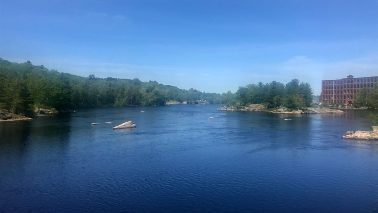 Trek on the Androscoggin River