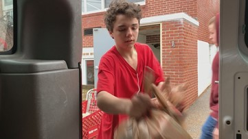 Teens at alternative school in Maine take charge of district's food insecurity program