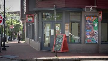 Keep ME Open: Portland market delivers groceries by bike