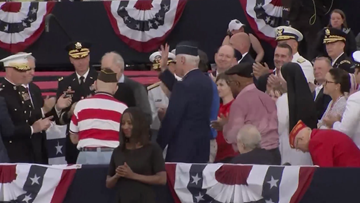 Honor Flight's Morse recognized at Trump's July 4 D.C. event