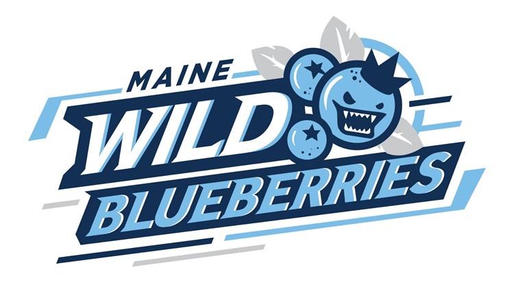Maine Wild Blueberries logo