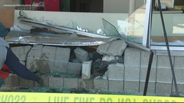 Car crashes into South Portland bagel shop