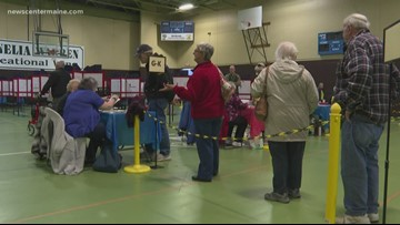 Voter turnout in Maine