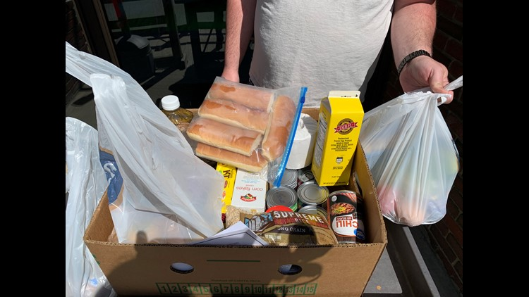 'It is ok to ask for help.' More people experience food insecurity for the first time