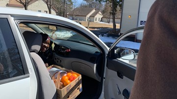 'Black Bear Exchange' food pantry helps UMaine students, faculty and staff during COVID-19