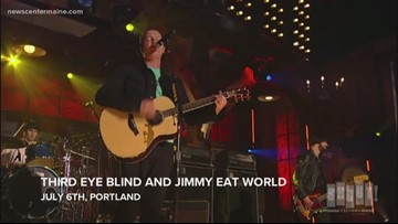 Where in Maine to see Third Eye Blind, Jimmy Eat World, Heart, Sheryl Crow and more
