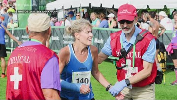 You've watched the runners at the Beach to Beacon; meet one of the doctors who takes care of them