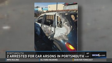 Portsmouth arson charges