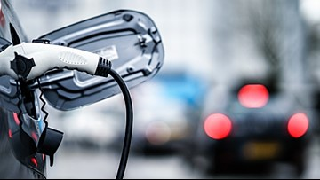 Gov. Mills announcing grants for more car-charging stations