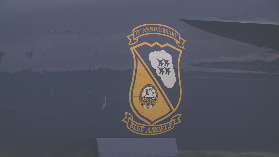 Blue Angels fly into Brunswick for air show