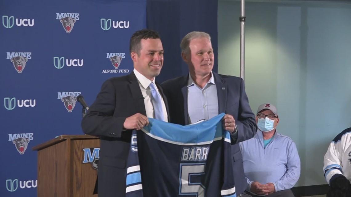 UMaine's new men's hockey coach arrives on campus