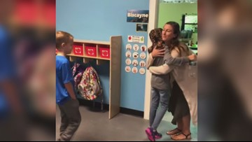 Fist bump, high-five or hug? 2nd graders get to choose greeting at Maine school