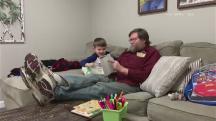 Retired teacher does preschool with grandson during pandemic