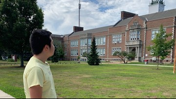 Deering High a welcoming place, student says, despite enrollment numbers