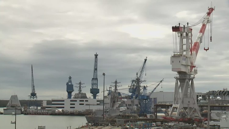 BIW says management and union are improving efficiency of shipbuilding