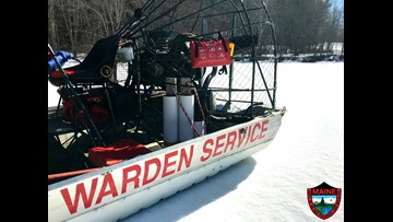 Generous donations of lifesaving rafts given to the Maine Warden Service