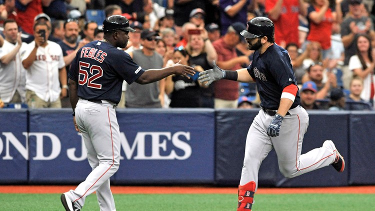 Red Sox sweep their way out of the A.L. East basement
