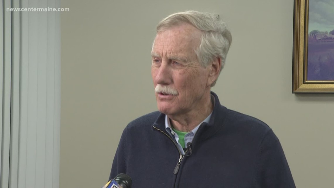 Senator King talks ISIS, Mueller Report upon return from Iraq