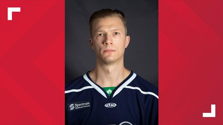 Maine Mariners Defenseman Zach Tolkinen