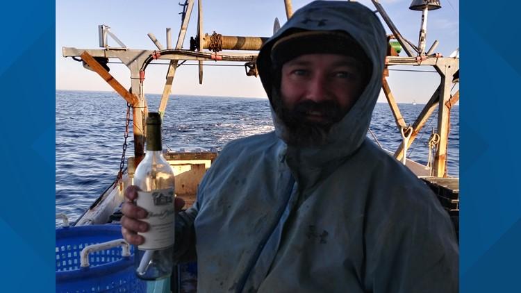 Robert Porter, message in a bottle