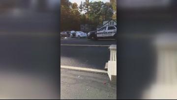 4-car crash in Sanford