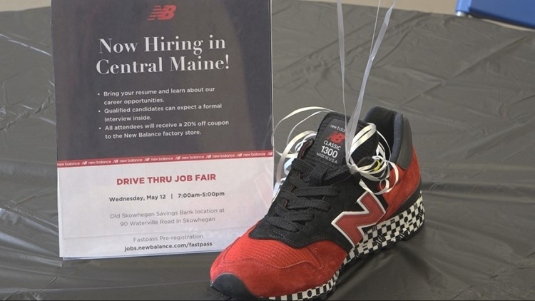 New Balance to add 100 jobs in Maine