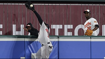 Like Spider-Man on the Avengers, JBJ fills the role of heroic wall crawler for the Red Sox