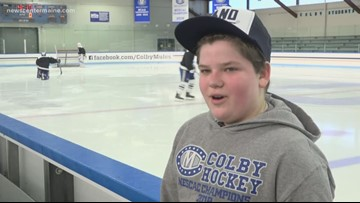 Colby hockey team's most 'impactful' player